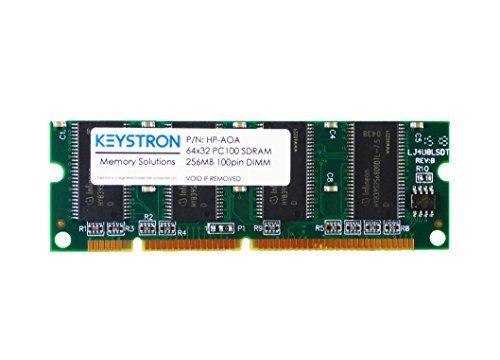 256MB Memory DIMM 4 HP Color LaserJet 2505 2605 2605DN 2605DTN 2700 2700N HP-256MB-PC100-100P, HP-AOA by Keystron