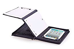 Executive Leather Padfolio for 12.9 inch iPad Pro, Letter A4 Paper