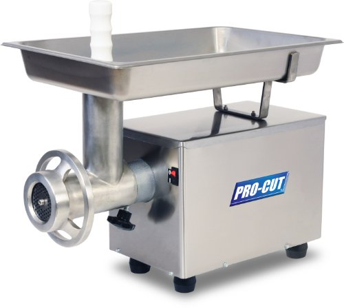 PRO-CUT KG-12-FS Food Service Meat Grinder, 12 Different Plates, 3/4 HP, 110V, 60 Hz by Pro-Cut