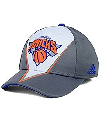 adidas New York Knicks Slasher Flex Hat - Small/Medium