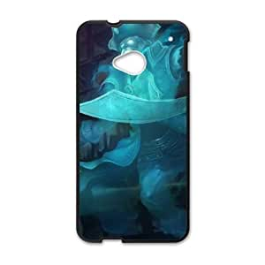 League of Legends(LOL) Gangplank HTC One M7 Cell Phone Case Black Phone Accessories LK_737769