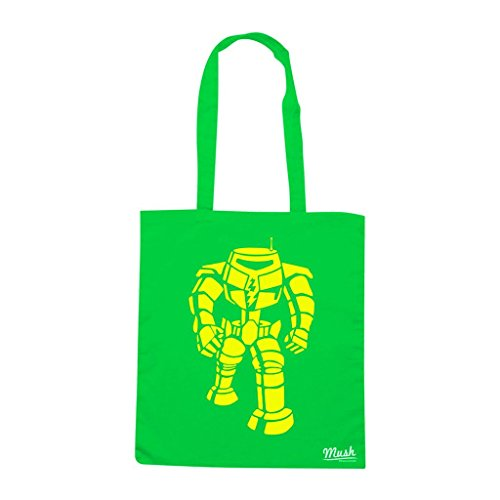 Borsa Robot Sheldon Big Bang Theory - Verde prato - Film by Mush Dress Your Style