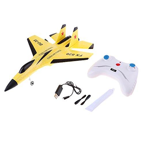 Baoblaze SU-35 Radio Remote Control 2.4G EPP Foam Airplane RC Plane Glider Airplane