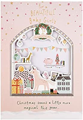 Hallmark - Tarjeta de felicitación navideña para niña ...