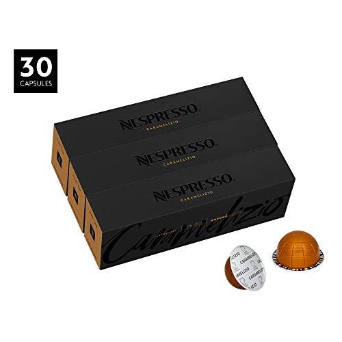 Cover Serve Gourmet - Nespresso VertuoLine Coffee, Caramelizio, 30 Count