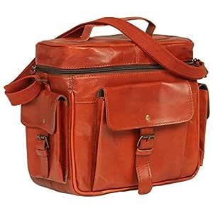 vidaXL - Funda para cámara réflex Digital (Piel), Color marrón ...