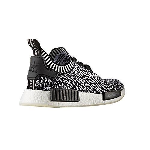 Adidas Original Nmd_r1 Pk, Primeknit Sneaker. Schuhe Herren Laag Bovenkern Zwart / Wit (sashiko)