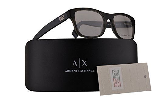 Armani Exchange AX3039 Eyeglasses 54-18-145 Matte Havana Pear w/Clear Demo Lens 8203 AX - Armani Exchange Www Com