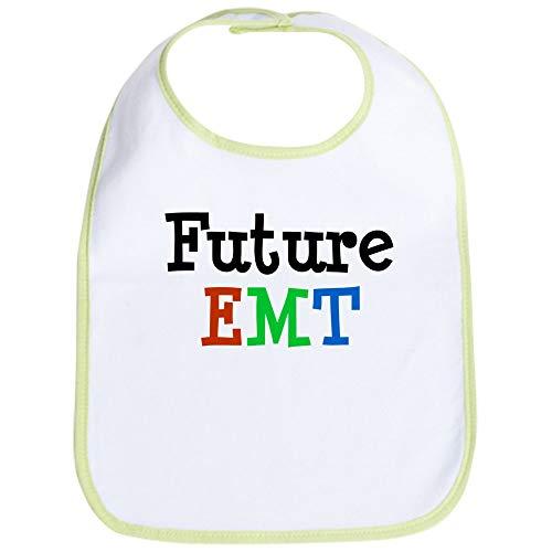 CafePress EMT Bib Cute Cloth Baby Bib, Toddler Bib