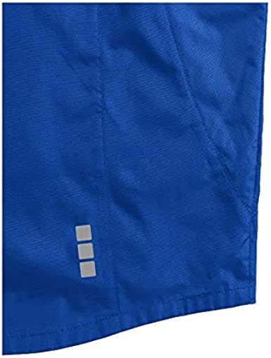 Elevate Nelson Womens Rain Wind Waterproof Lightweight Jacket Red All-Sizes