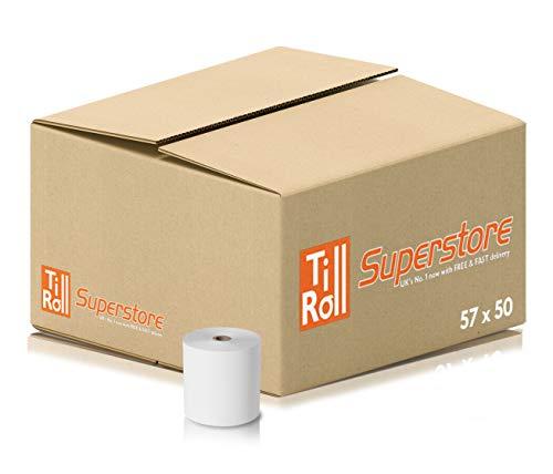 20 Rolls 57 x 50 mm Thermal Rolls EPOSGEAR/®