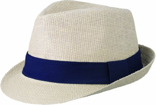 Myrtle Beach Hut Street Style, natural/navy, S/M, MB6564 nany