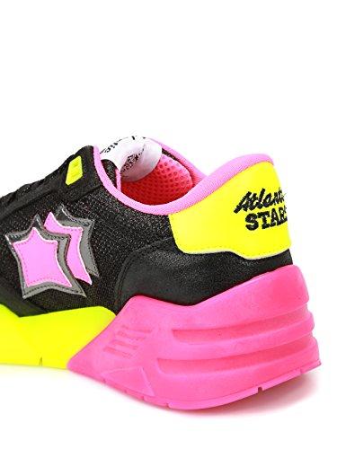 Atlantic Stars Women's VENUSNBSN05 Multicolor Leather Sneakers SwPatn