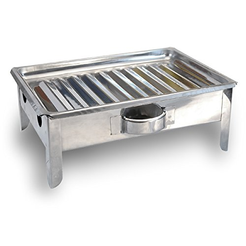 Bracero de Mesa - Argentinean Table Meat Warmer - Stainless Steel - Meat Warmer