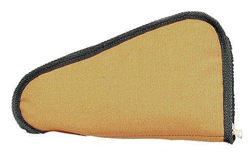 Uncle Mike's Tan Ballistic Nylon Pistol Rug (10-Inch)