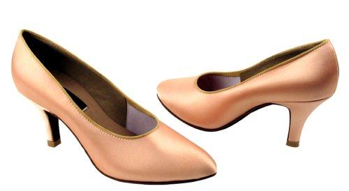 Chaussures Très Fines Dames Standard Et Lisse Concurrentiel Dancer Série Cd5021m 2.75 Chair Satin