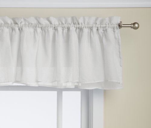 Lorraine home fashions gypsy shabby chic layered ruffle for 15 inch window blinds