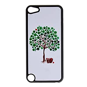 GJY Shimmering Green Apple Tree Pattern Hard Case for iPod touch 5