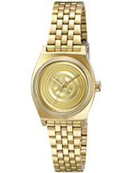 Nixon Womens A399SW-2378-00 Small Time Teller SW, C-3PO Gold Quartz Stainless Steel Casual Watch