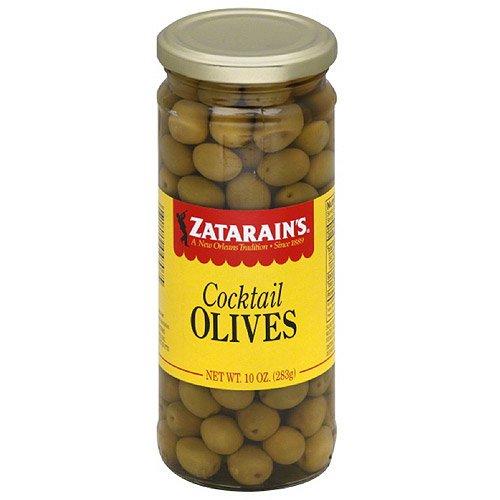 Zatarain's Cocktail Olives, 10 oz, (Pack of 12)