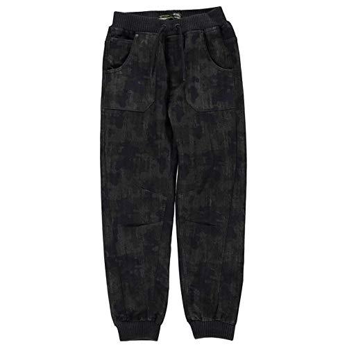 No Fear Boys Camo Jog Jeans Junior Trousers Bottoms Pants Navy 11/12 (L) (No Fear Combat Pants)