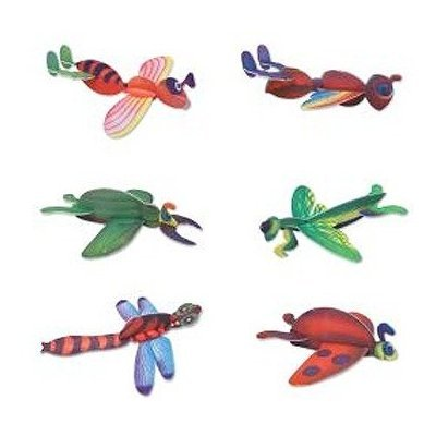 Foam Insect Gliders Party Favor