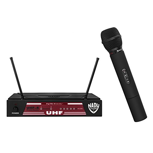 Nady UHF-4 Wireless Handheld Microphone System with True Diversity