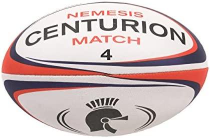 CENTURION Nemesis Size 5 - Pelota de Rugby, Color Rojo, Talla Size ...