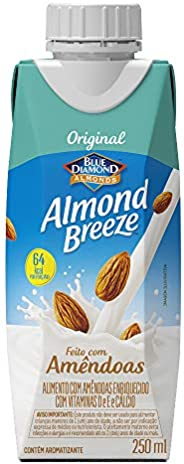 Alimento com Amêndoas Original Almond Breeze 250ml