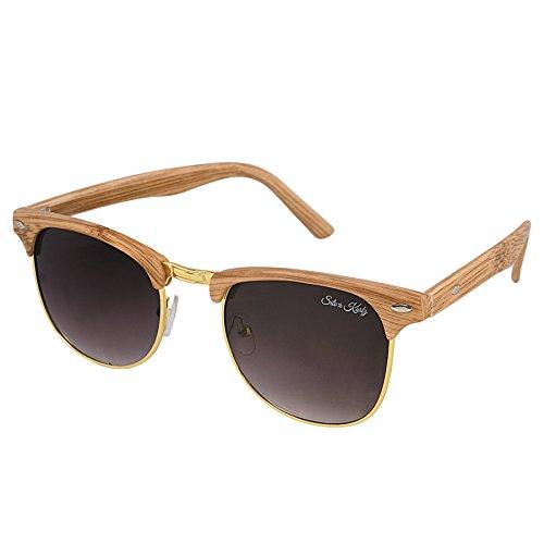Silver Kartz UV Protected Wayfarer Unisex Sunglasses Wy188 Rs. 199  ( 88%  Discount).