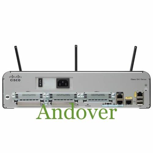 Cisco C1941W-A-N-SEC/K9 1941 Wireless Security Router 802.11 A/N