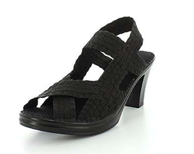Amazon.com | Bernie Mev Women's Lizette Synthetic Sandals | Heeled