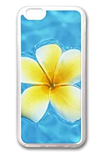 iPhone 6 Plus Case, iPhone 6 Plus Cover, iPhone 6 Plus ( 5.5 inch ) Hawaiian Yellow Flowers Soft Clear Cases by runtopwell