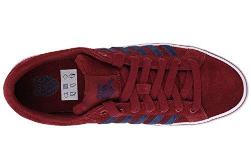 K-Swiss Adcourt '72 MID SDE - Zapatillas de caña alta de cuero hombre Rot