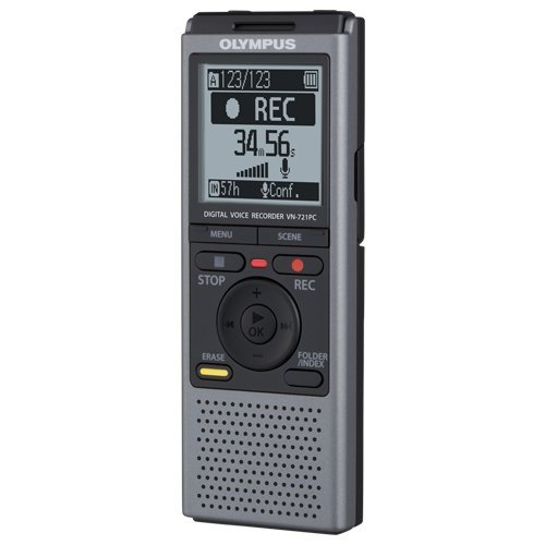 Olympus VN721PC 2GB Digital Voice Recorder (Reminder Device)