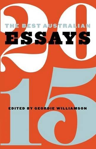 best australian essays 2008