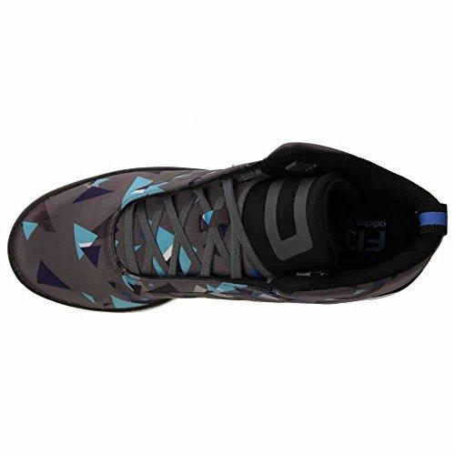 Adidas Veritas Mitten Onix Svart Svart Lila Vita Mens Mode Sneaker B34526 Grå