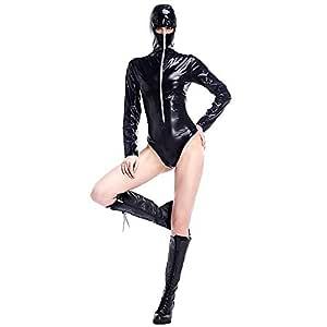 WWANGYU Disfraz De Halloween Traje De Cuero Juego Ninja ...