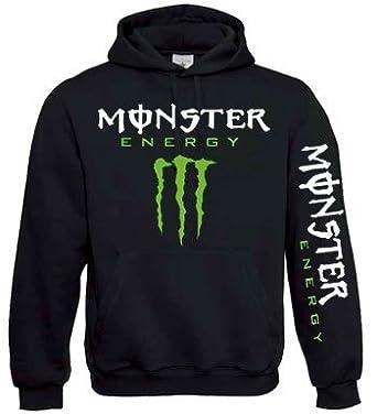monster energy childrens kids black hoodie large 9 11. Black Bedroom Furniture Sets. Home Design Ideas