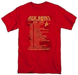 Star Trek - Red Shirt Tour T-Shirt Size L