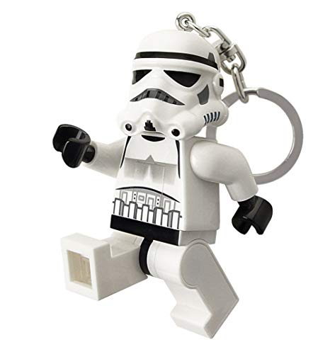 LEGO Star Wars Stormtrooper Key Light - Minifigure Key Chain with LED Flashlight -