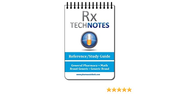 Amazon.com : PTCB exam preparation--Pocket Guide for Pharmacy Technicians: Rx Technotes--Pharmacy Technician Reference and Study Guide : Beauty