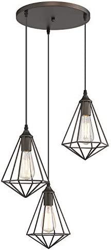 Zeyu 3-Light Cluster Pendant Light