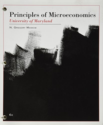 Principles of Microeconomics(University of Marylan