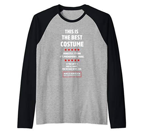 Easy Political Halloween Costumes (Donald Trump Easy DIY Halloween Costume Funny Political Gift Raglan Baseball)
