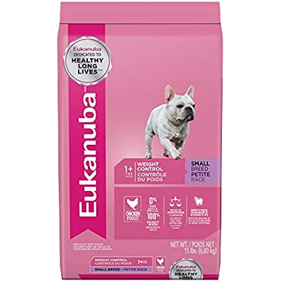 Eukanuba Adult Small Breed Weight Control Dog Food 15 Pounds