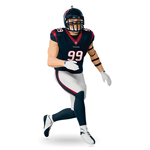 Hallmark Keepsake 2017 NFL Houston Texans J. J. Watt Christmas Ornament