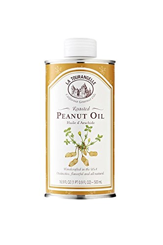 - La Tourangelle Roasted Peanut Oil 16.9 Fl. Oz, Rich Flavorful Peanut Oil, Great in African and Asian Cooking or as a Dressing
