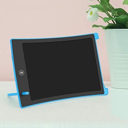 LKJASDHL 新しい8.5インチ液晶液晶柔軟な光エネルギー小さな黒板子供学生ライティング手書きボード早期教育絵画デジタルノートブック (色 : 青)
