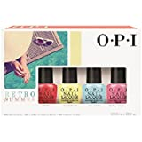 OPI Retro Summer Mini collection set of 4 (3.75 ml / .125 fl oz)